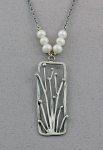 J & I - Sterling Silver Necklace with Freshwater Pearls - SPR3N