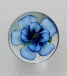 Kelly Powell - Marble - KP12 Blue Flower