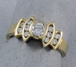 Michael Chang -  Diamond Ring MC-06058-5
