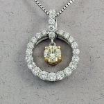 Michael Chang - Diamond Pendant MC-07271-31