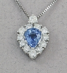 Michael Chang - Sapphire Necklace MC-07271-38