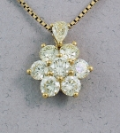 Michael Chang -  Diamond Pendant MC-08159-07