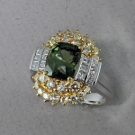 Michael Chang - Sapphire & Diamond Ring MC-10321-19