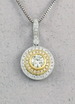 Michael Chang -  Diamond Pendant MC-10228-08
