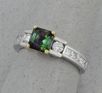 Michael Chang - Tourmaline & Diamond Ring MC-10321-08