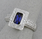 Michael Chang - Sapphire & Diamond Ring MC-10321-17
