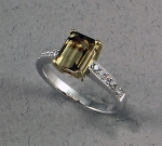 Michael Chang - Tourmaline & Diamond Ring MC-12152-17
