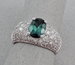 Michael Chang - Tourmaline & Diamond Ring MC-15201-25