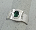 Michael Chang - Tourmaline & Diamond Ring MC-15201-27