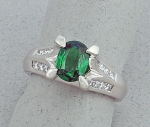 Michael Chang - Tsavorite & Diamond Ring MC-31115-25