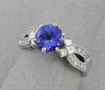 Michael Chang - Tanzanite & Diamond Ring MC-50072-46