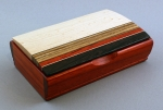 Mikutowski Woodworking Desk Box TB 97: Padauk & Assorted Woods