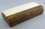 Mikutowski Woodworking Linear Box TVR 11: Shedua, Bird's Eye Maple & Wenge