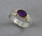 Peter James Ring - 1324CO Amethyst