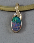 Patrick Murphy - Opal & Diamond Slide 13022-09
