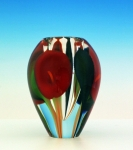 Scott Bayless - Mini Vase - Red Calla Lily