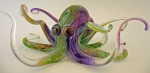 Hopko Glass - Multi-Colored Octopus