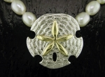 Steven Douglas - Sand Dollar Necklace SGN303