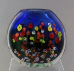 Shawn Messenger Vase: Large Cobalt Bouquet Pouch