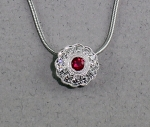 Stanton Color - Ruby & Diamond Necklace SC-10-363-14