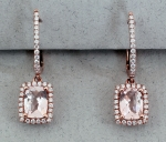 Stanton Color - Morganite Earrings SC - 13164-21