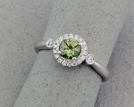 Stanton Color - Demantoid Garnet & Diamond Pendant SC-15180-04