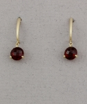 Stanton Color - Garnet Earrings SC-17252-14
