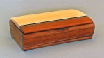Mikutowski Woodworking Desk Box TB 97: Bubinga, Maple & Wenge