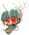 Bovano - W1949 - Anemone Fish with Sea Fan