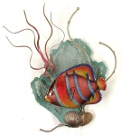 Bovano - W1950 - King Angelfish with Sea Fan
