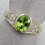 C. Priolo: Terry Seaver - Ring Peridot SV773