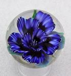 Kelly Powell - Marble - KP17 Blue Striped Flower