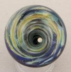Kelly Powell - Marble - KP34 Black Hole Vortex with Opal Moon