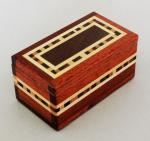 Natural Renaissance: NR17 Magnetic Box - Bloodwood and Assorted Woods