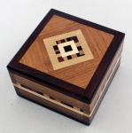Natural Renaissance: NR2 Square Magnetic Box Black Walnut