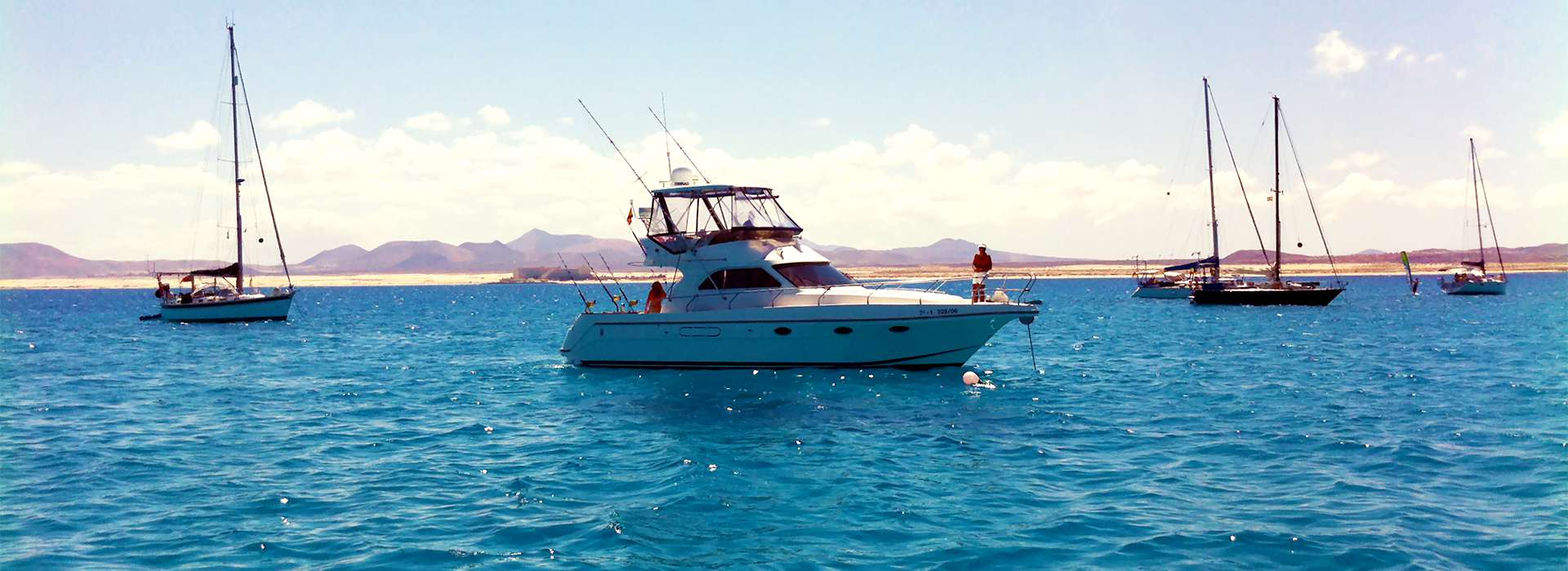 Take a fishing boat to the Isla de Lobos