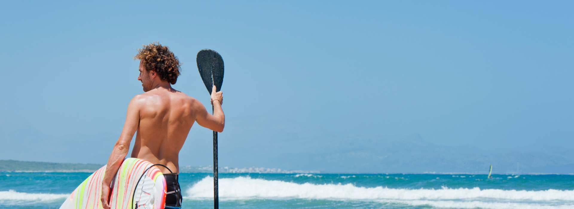 Paddle surf in Fuerteventura