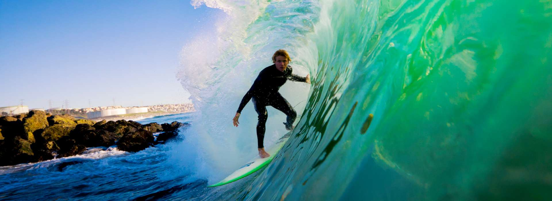 Surf in the European Hawaii