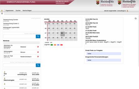 Screenshot-Sozialportal-Individualentwicklung
