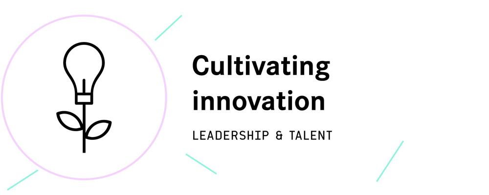 The pillars leadership and talent