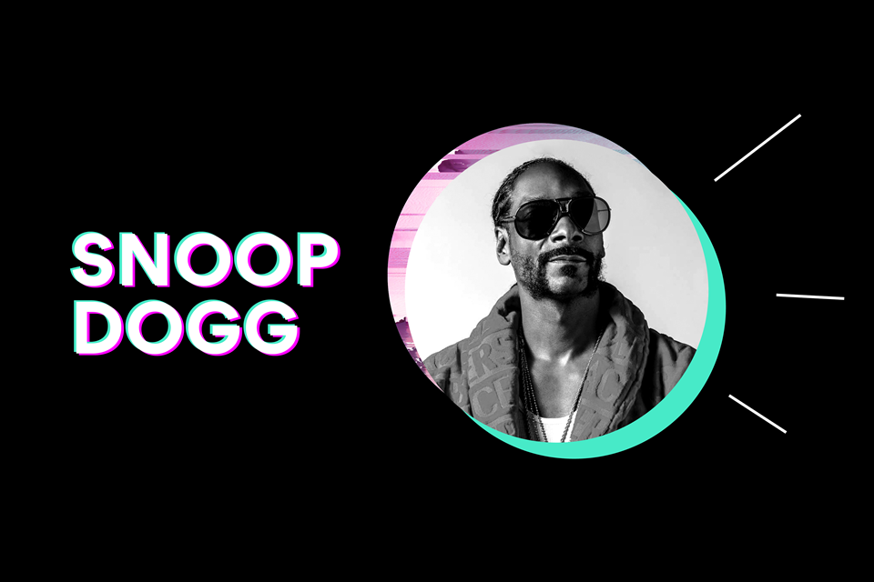 Speaker announcement Snoop Dogg