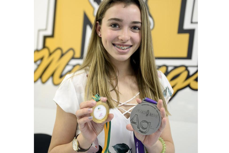Felicia Harvey, 6 under 16