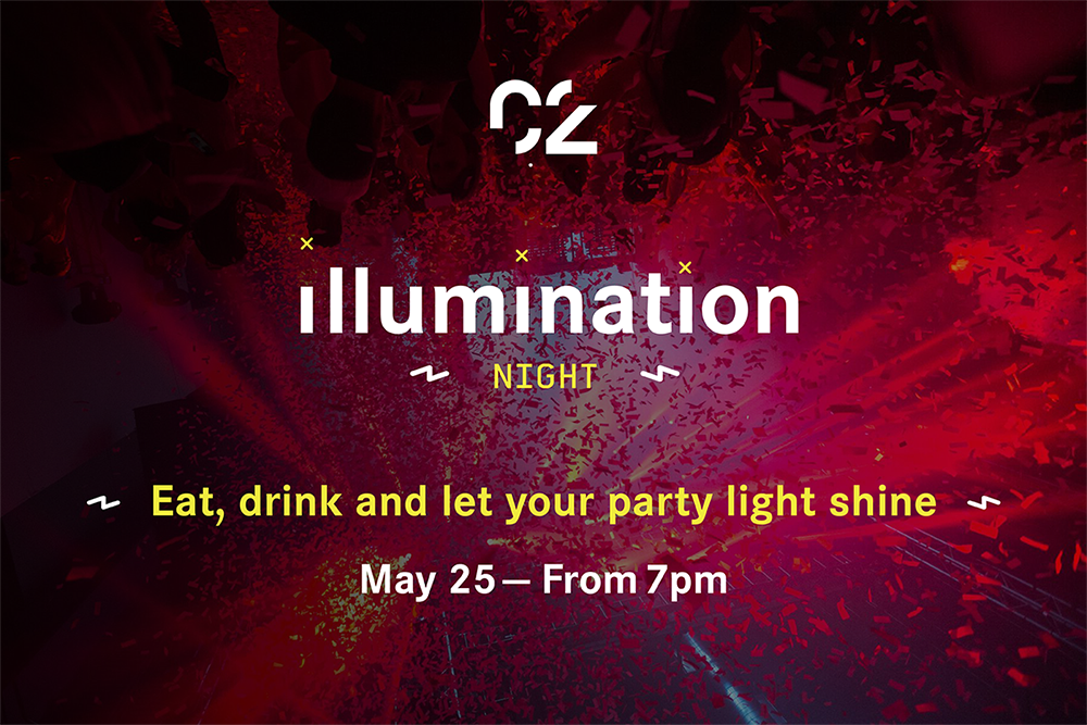 Illumination night, C2 Montréal