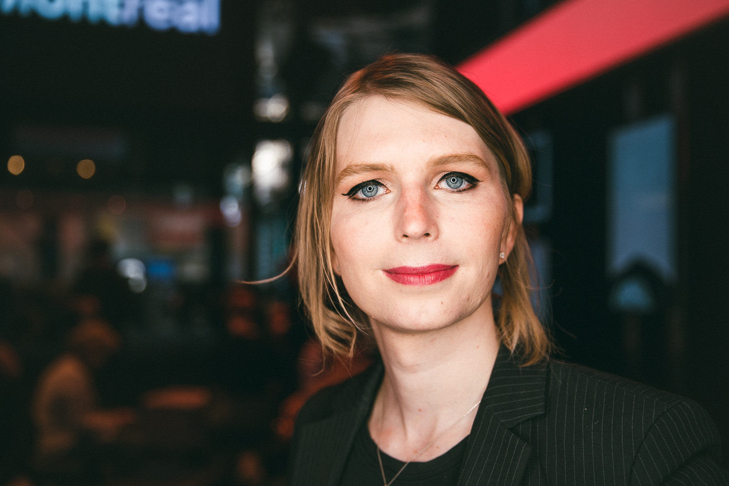 Chelsea Manning - Photo: Myriam Baril Tessier