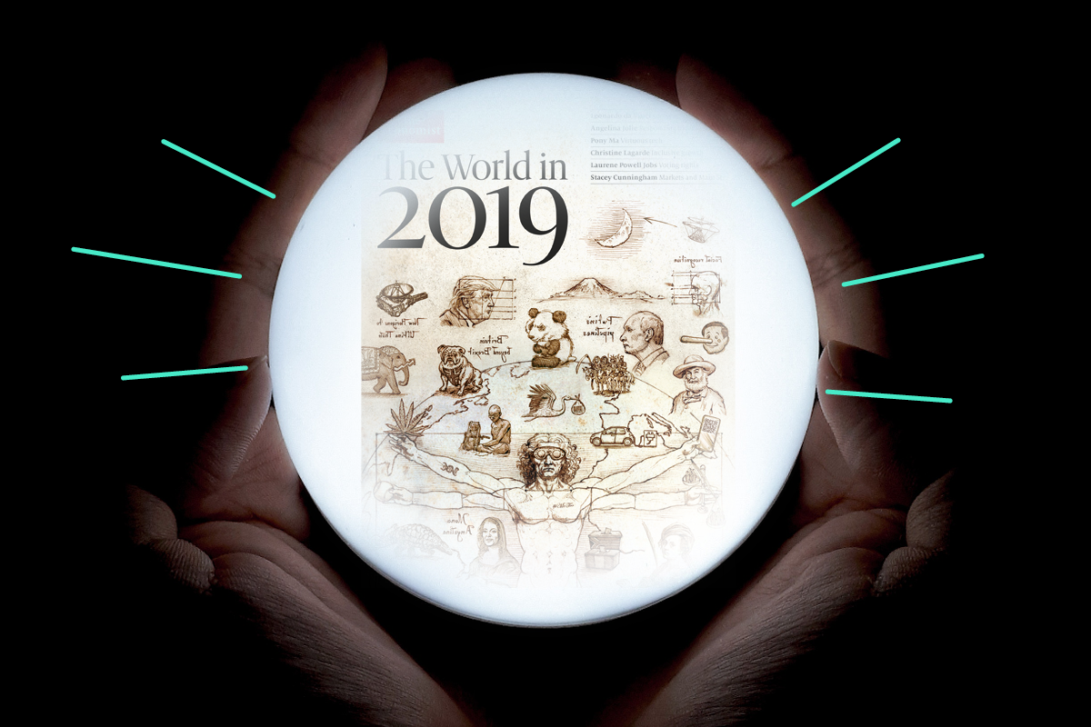 Crystal balling 2019: The Economist shares its toolkit for predicting the future