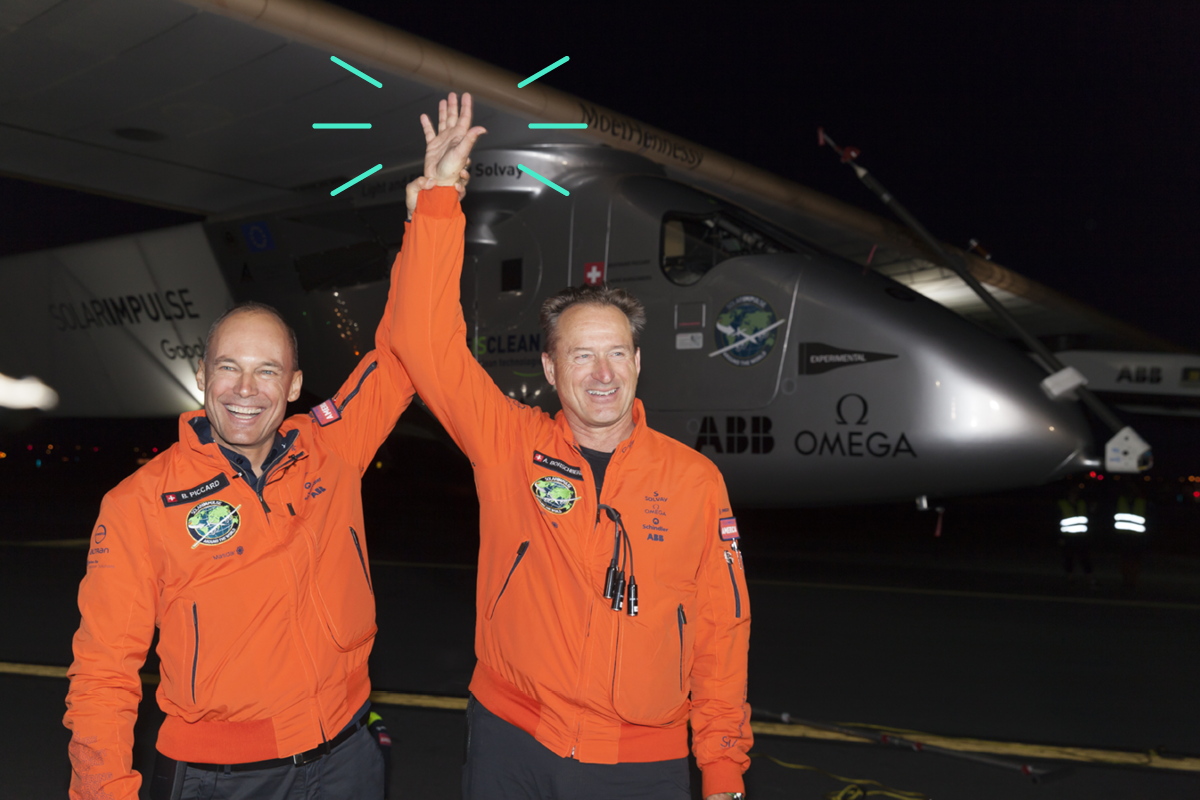 Solar Impulse's Bertrand Piccard on how big ideas take flight