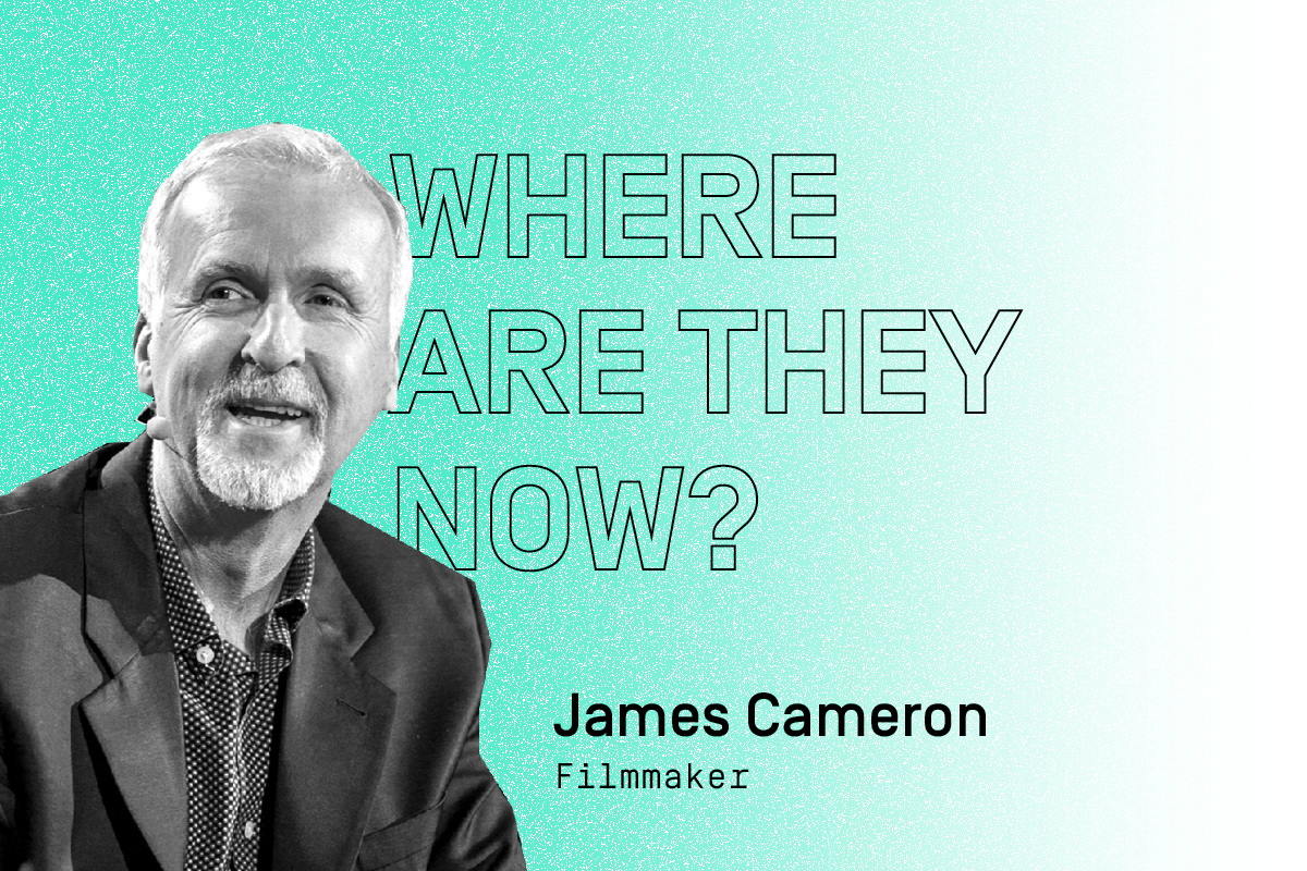 C2 alumni: Where are they now? Featuring filmmaker James Cameron