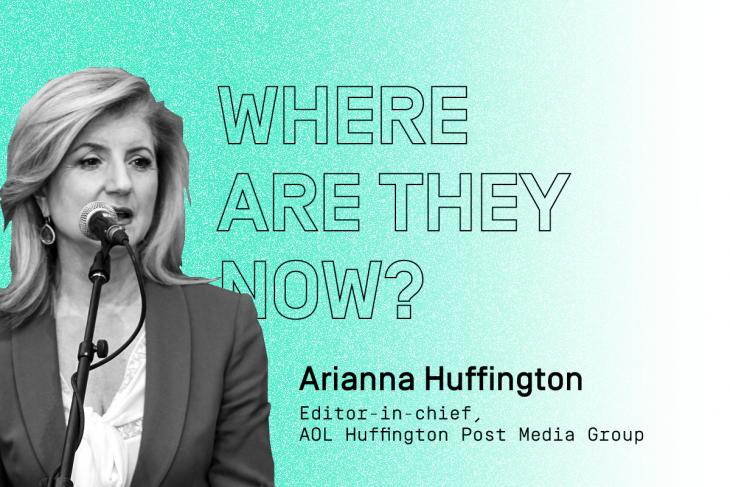 C2 alumni: Where are they now? Featuring online media trailblazer Arianna Huffington