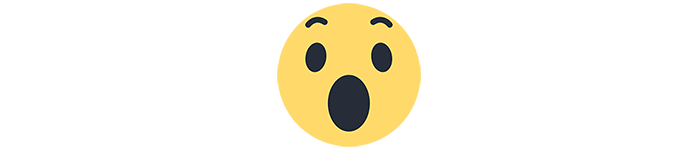 facebook emoji surprised
