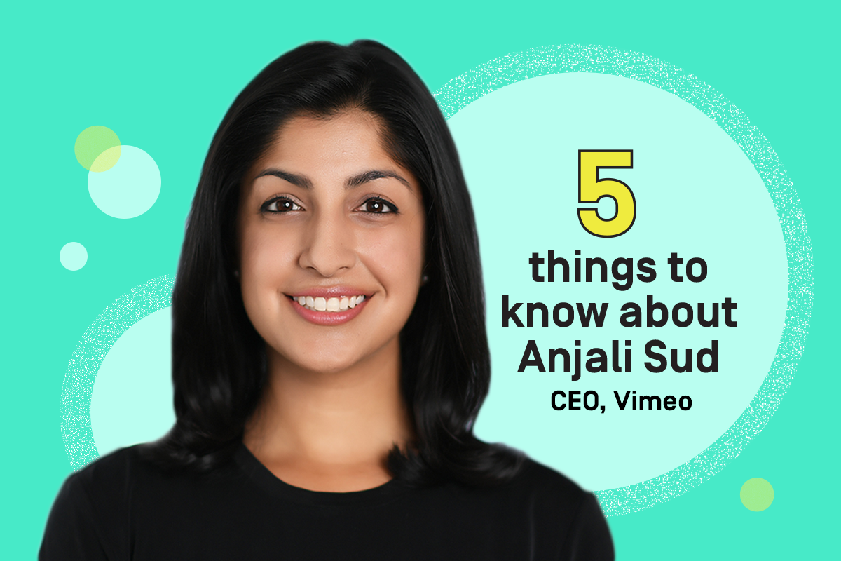 5 things to know about Anjali Sud, CEO Vimeo